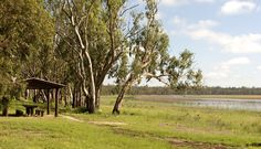 QUEENSLAND (Brisbane West). Lake Broadwater Conservation Park. Full or empty, Lake Broadwater is a great spot to be.