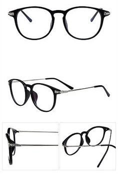 Fashion Moda Retro Vintage Marco Transparente Lente Nerd Geek gafas recetadas gafas gafas