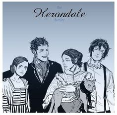 The Herondales! - Lucie, Will, Tessa and James. Cassandra Jean, Cassandra Clare Books, Shadowhunters Series, Shadowhunters The Mortal Instruments, Malec, Jace Lightwood, Clockwork Princess, Shadowhunter Academy, Will Herondale