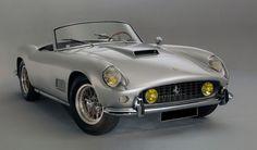 Ferrari 250 GT California spider sn 2561 GT, first owner Roger Vadim. sold 02/2012 for € 4507104