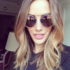 Rebecca Judd.. Dior glasses + hair..