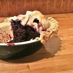 Flaky Food Processor Pie Crust Recipe. This is the one I use for all of my pies.  Works every time!