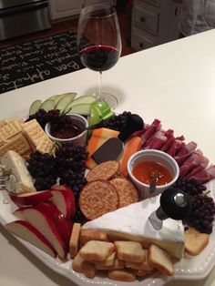 Awesome Cheese platter