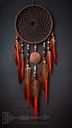 °Navaho DreamCatcher by MariMagsha ~ Купить Ловец снов Навахо - коричневый, ловец снов, ловец сновидений, ловец снов оберег