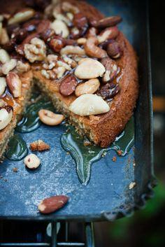 Sweet Paul's GOOEY Espresso Cake with Honey & Nuts!