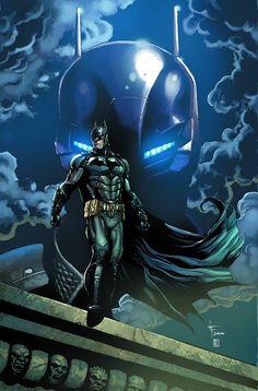 Batman: Arkham Knight Vol Death of a Rival -- DC Comics Batman Arkham Knight, Joker Batman, Batman The Dark Knight, Batman Poster, Batman Artwork, Batman Wallpaper, Arte Dc Comics, Fanart, Batman Universe