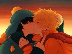 South Park - Craig Tucker x Kenny McCormick - Crenny South Park Goth Kids, South Park Anime, South Park Fanart, South Park Characters, Fictional Characters, Craig South Park, Valentines Day Drawing, Warm Bodies, Wattpad