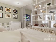 Trendy home welcome bedrooms ideas Interior House Colors, Home Interior Design, Small Living Rooms, Living Room Bedroom, Kitchen Builder, Bedroom Divider, Studio Apartment Decorating, Home Office Decor, Home Decor