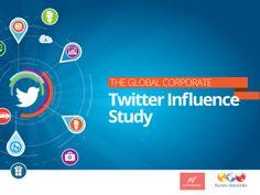 Burson-Marsteller Global Corporate Twitter Influence Study by Burson-Marsteller via slideshare
