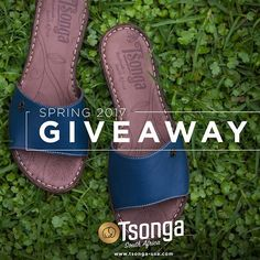 GIVEAWAY Want to step into our Spring line? To celebrate Tsonga's new, fresh website and our new products, we are offering a chance to take home a pair of Tsonga women's sandals from the Spring 2017 collection! Prep your feet for beautiful spring which is just around the corner!  To enter, perform the following three steps: 1) LIKE our page on Facebook or Follow us on Instagram 2) SHARE this post on Facebook or repost on your Instagram account 3) COMMENT your favorite color of shoe…