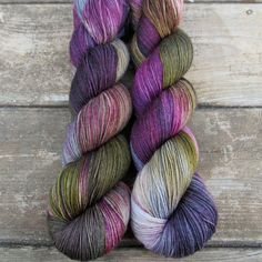 Zombie Prom - Tarte - Babette | Miss Babs Hand-Dyed Yarns & Fibers, Inc.