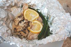francinha cooks | papillote de peixe com shimeji e nirá