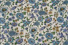 Vintage Feedsack Flour Sack Fabric Blue by pixiedustlinens on Etsy