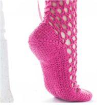 Shms Patterns: Crochet Corset Socks