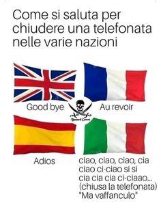 Noi Italiani ci facciamo riconoscere da tutti Funny Video Memes, Videos Funny, Italian Memes, Funny Italian Quotes, Serious Quotes, Savage Quotes, Funny Scenes, Sarcasm Humor, Funny Messages