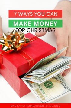 Are you looking for ways to make money for Christmas? Check out these 7 ways you can score free cash for the holiday season and start making money today. Make Money Online Surveys, Ways To Earn Money, Money Tips, Way To Make Money, How To Make, Free Cash, Free Money, Online Job Opportunities, Build Credit
