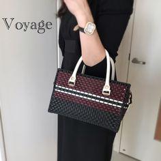 素敵なVoyage 続々誕生♡   Atelier Stephanie アトリエステファニー Lady Dior, Shoulder Bag, Bags, Tassel, Fashion, Plastic Mesh, Craft Bags, Tights, Totes