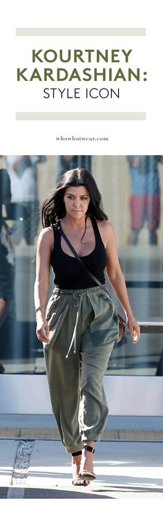 Get Kourtney Kardashian's chic style