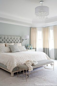 Beautiful Bedroom design ideas, easy to fall in love… #homedecorideas #interiordesign #bedroom luxury homes, bedroom ideas, luxury design . See more inspirations at homedecorideas.eu/ The post ..
