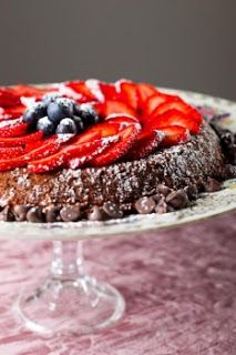 Gluten-Free Chocolate Cake #glutenfree #grainfree