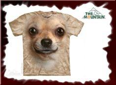 Todchic - Mode, Schmuck, Accessoires und mehr für Anhänger der Gothic-Szene, Steampunk, Biker, Mittelalterfans und andere Individualisten! Chihuahua Face. Hund