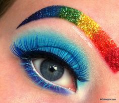 rainbow dash makeup - Google Search