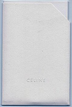 The ultimate in minimal chic. #celine #luxury