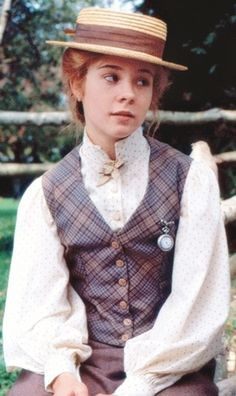 Anne Shirley--Anne with an E. An all time favorite of mine! I loved the books. But, the movies were more than I could've dreamed! I have all the DVDs thanks to my recently departed mother. I love her for knowing me through and through.