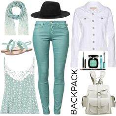 A fashion look from August 2014 featuring True Religion jackets, Lee jeans and Madden Girl sandals. Browse and shop related looks.