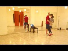 Видео-уроки бачаты: простейшие фишки ногами от Алексея и Рузанны - YouTube