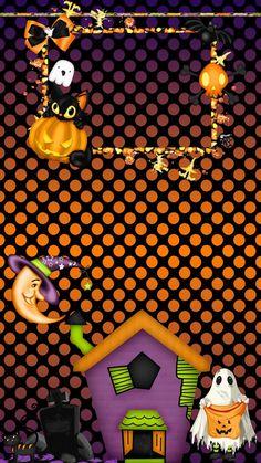 Halloween tjn Bling My Phone Halloween Doodle, Halloween Poster, Halloween Painting, Halloween Clipart, Scary Halloween, Paper Halloween, Halloween Wallpaper Cute, Holiday Wallpaper, Halloween Backgrounds