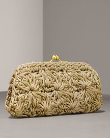 Bolso de crochet  por S. B. Lyke, a través de Flickr  -  Crochet Clutch by S. B. Lyke, via Flickr