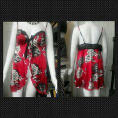 FLASH NINE $$$ Apt. 9  floral Lingries WAS $22.00 Beautiful floral print Apt. 9 Intimates & Sleepwear Chemises & Slips