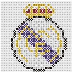 Plantilla Hama Real Madrid FC (Escudos Fútbol) www.tuburbuja.es