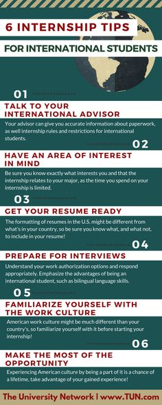 How to Land a Summer Internship Pinterest Students and School