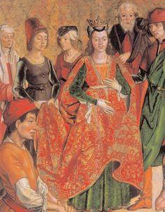 Pedro Berruguete. La verificación de la cruz de Cristo. Museo de la Parroquia de Santa Eulalia, Paredes de Nava. c. 1470.
