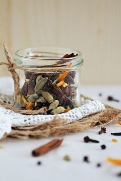 Get creative with homemade mulling spices, and warm up with a spiced glass of mulled wine or cider.
