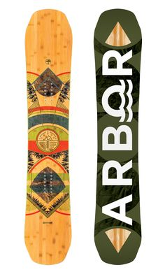 Arbor Snowboards - Coda - System  Rocker / Mountain Twin / Sintered Base / Medium Flex