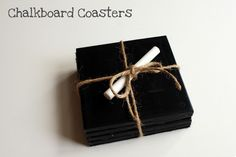 Chalkboard Coasters | Cool Crafts for Teens | DIY Projects for Teens