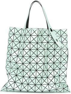 BAO BAO ISSEY MIYAKE prism pattern tote bag. #baobaoisseymiyake #bags #hand bags #polyester #tote #