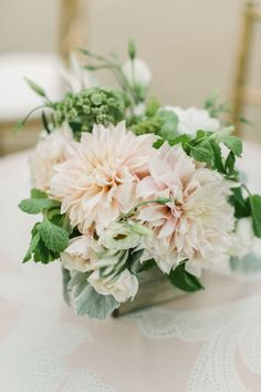 wedding centerpiece idea; photo: The Edges Wedding Photography