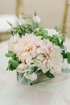 wedding centerpiece idea; photo: The Edges Wedding Photography