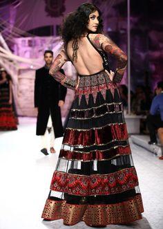 JJ Valaya collection at Bridal Fashion show 2013 at Delhi 14
