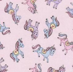 Glitter Unicorns Pink