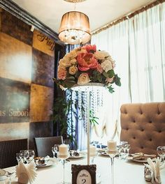 Центральная композиция на столы гостям. Wedding decor flower, bridge, trend 2016 Москва, МО, Минск, Римини, Париж.