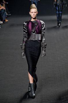Haider Ackermann at Paris Fashion Week Fall 2011 - Runway Photos