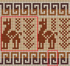 Knitting Charts, Knitting Stitches, Knitting Patterns, Tapestry Crochet Patterns, Loom Patterns, Crochet Chart, Filet Crochet, Cross Stitch Embroidery, Cross Stitch Patterns
