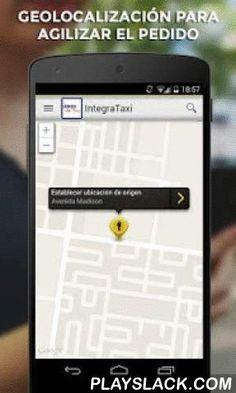 IntegraTaxi  Android App - playslack.com , ¡Con IntegraTaxi puedes pedir un taxi sencillamente desde tu Android!Pida el taxi más cerca de usted con solo 2 clicks.¿Cómo funciona IntegraTaxi? 1. IntegraTaxi localiza tu posición actual automáticamente. 2. Con sólo pulsar un botón, puedes pedir el taxi libre más cercano  3. Al final del viaje podrás evaluar al conductor y su servicio mediante estrellas.¿Por qué IntegraTaxi?- GRATIS: la descarga de la aplicación es gratuita- TRANSPARENTE…