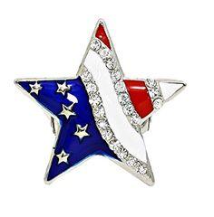 American Star Ring Z39 Stretch Red Blue Clear Crystal Silver Tone USA Patriotic Recyclebabe Rings http://www.amazon.com/dp/B014JLA4SI/ref=cm_sw_r_pi_dp_pI23vb1FK0TD0