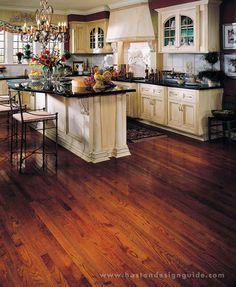 Bruce Flooring Bristol Solid Red Oak Hardwood Flooring in Butterscotch Wood Flooring Options, Diy Wood Floors, Solid Wood Flooring, Tile Flooring, Bruce Hardwood Floors, Hardwood Floor Colors, Bruce Flooring, Dark Hardwood, Dark Wood